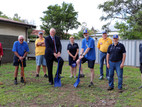Partnership sees Council constructing new Branxton Lions Club storage facility
