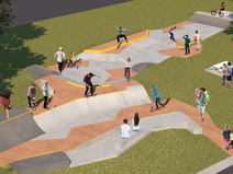 Wheels are in motion on construction of Millfield Skatepark