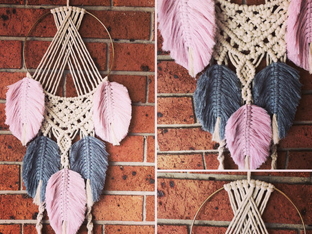 Wonderous Wall Hangings by Feather Drops