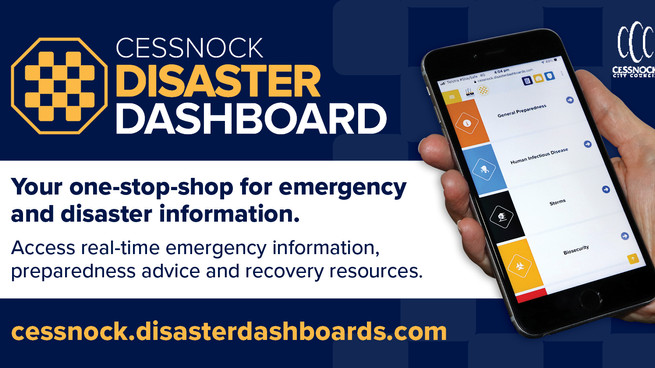 Cessnock Disaster Dashboard launched