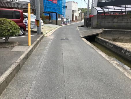 住宅用地:倉敷市西富井、解体更地引渡