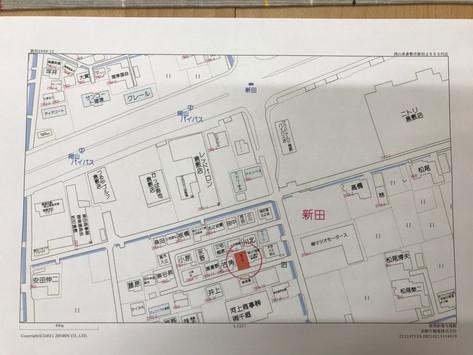 ニトリの西です!住宅用地:倉敷市新田