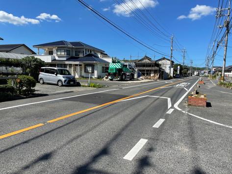 事業用地:倉敷市船穂町船穂、解体更地引渡