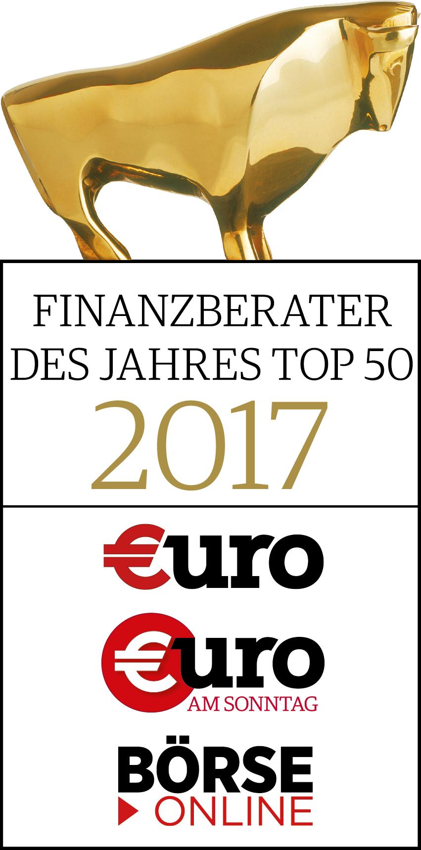 Finanzberater des Jahres 2017
