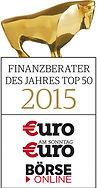 Finanzberater des Jahres 2015