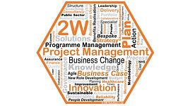 Orange hexagon 2W Solutions
