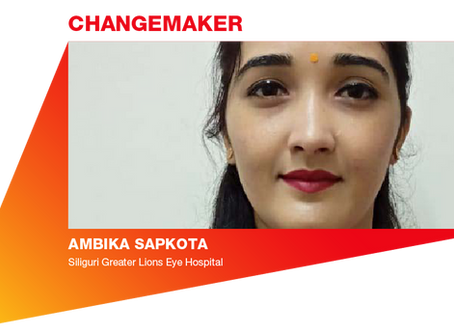 Eye Health Hero: Ambika Sapkota