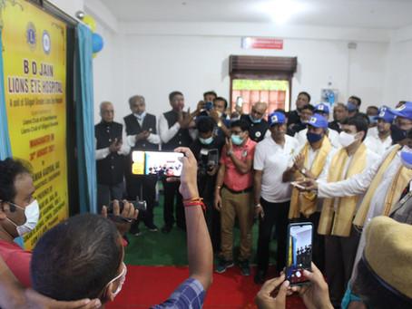 Press Release Inauguration Of B. D Jain Lions Eye Hospital