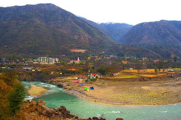 Hot Spring Health Care Tattapani Shimla Location