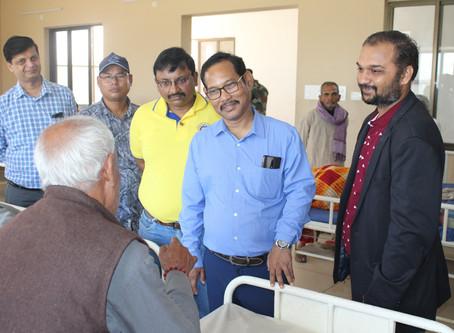 Visit of Hon'ble M.P Dr. Jayanta Kumar Roy