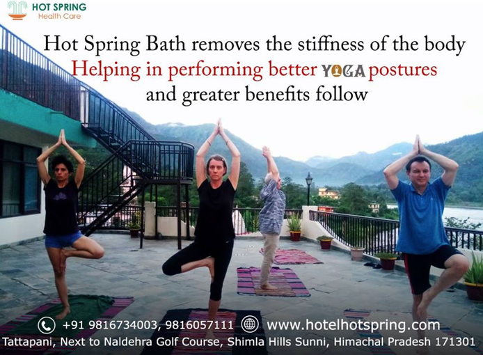 Yoga at Hot Spring Health Care Tattapani