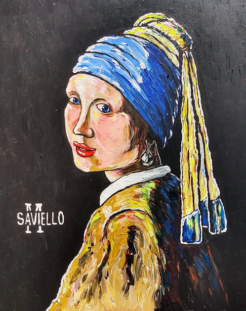 GIRL WITH A PEARL EARRING II
