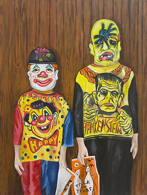 CLOWN AND MONSTER