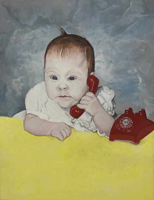 PORTRAIT OF THE ARTIST AS A BABY