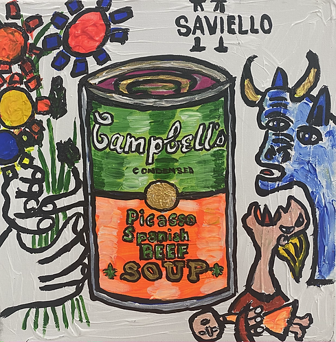 PICASSO SPANISH BEEF SOUP