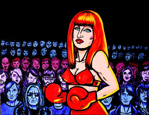 LYDIA LUNCH-FIGHTER