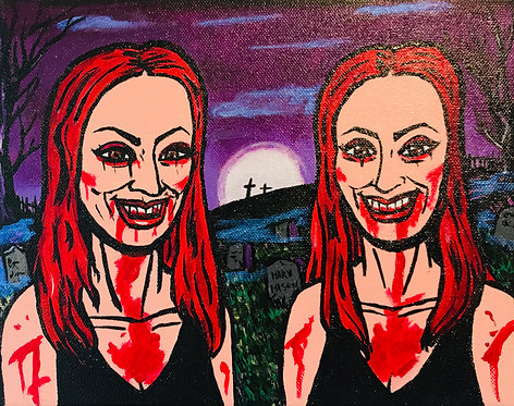 LES TWISTED TWINS