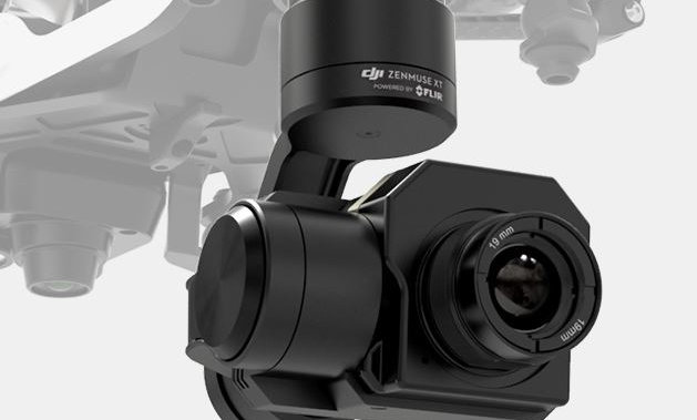 Zenmuse XT thermal camera