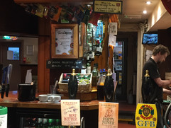 Front Bar with Draft Ales