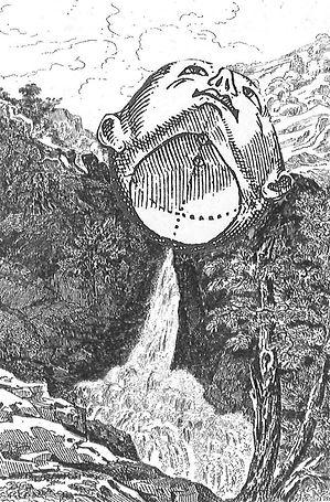 La cascade du Gimel