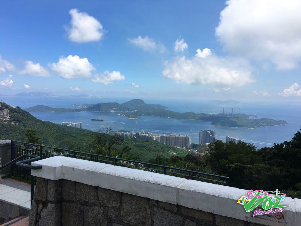 Lamma Island from Victoria Peak