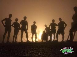 Taimoshan Summit at night