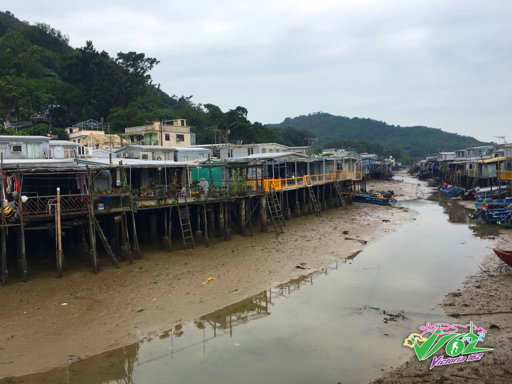 Water Huts in Tai O