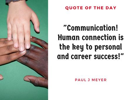 Communication Is Key 🗝