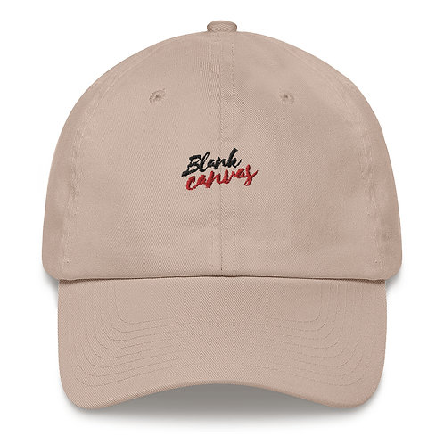 'Blank Canvas' Unisex Dad Hat