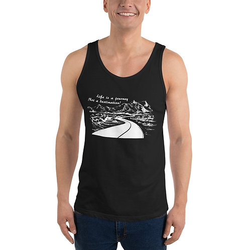 'Life Is a Journey ...' Unisex Tank Top