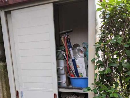 神戸市東灘区で物置撤去・不用品回収のご依頼をいただきました。