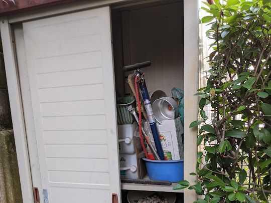 神戸市東灘区で物置撤去・不用品回収のご依頼