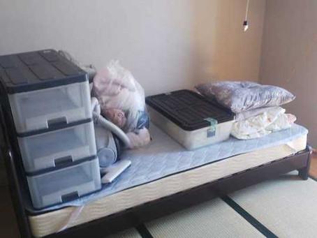 神戸市東灘区でベッド処分・不用品回収のご依頼をいただきました。