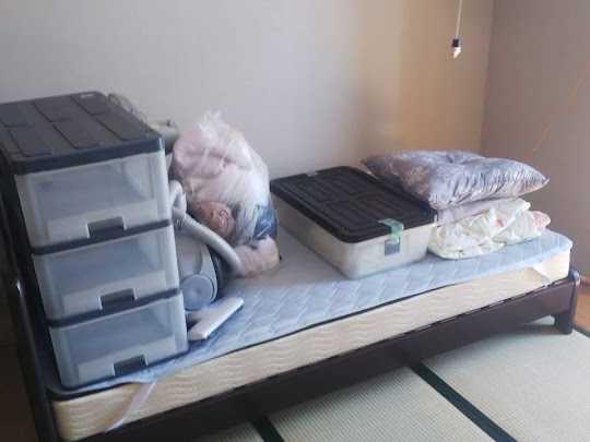 神戸市東灘区でベッド処分・不用品回収のご依頼