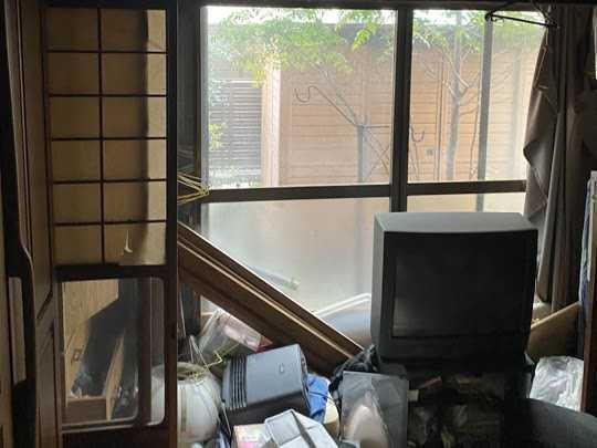 京都市東区で遺品整理・空き家整理のご依頼