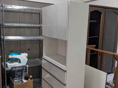兵庫県芦屋市でタンス・ラックなど、家具回収・処分のご依頼をいただきました。