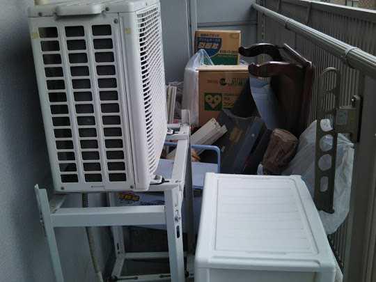 大阪市西区にて引越しに伴う不用品回収のご依頼