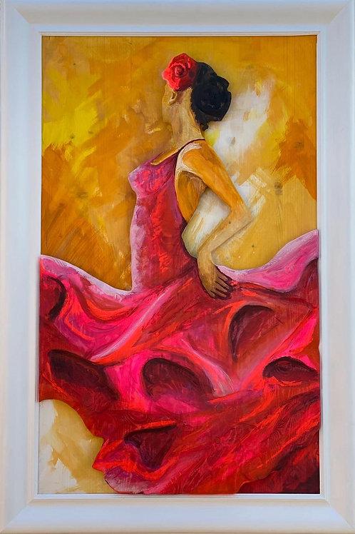 Passione IN rosso 117x77 cm