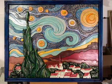 Omaggio al grande artista Vincent Van Gogh