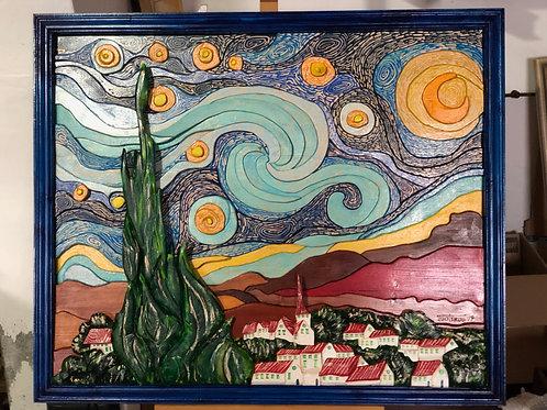 Omaggio a Vincent 103x83,8 cm