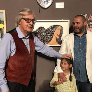 Vittorio Sgarbi, critico d'arte, saggista, politico, personaggio televisivo e opinionista