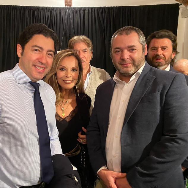 Salvo Nugnes, curatore di mostre e grandi eventi e Silvana Giacobini, scrittrice e giornalista