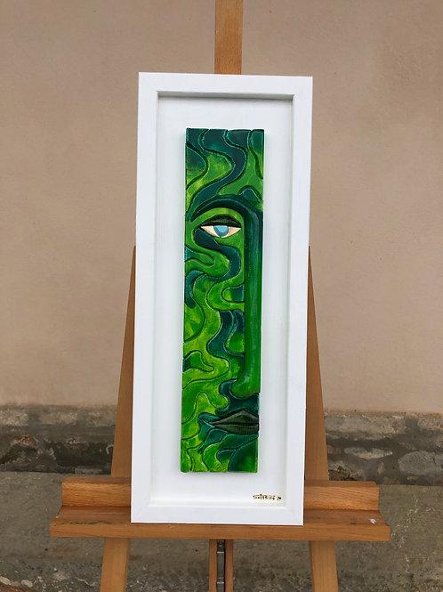Profondo dell'animo verde 25x65b  cm