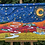 Thumbnail: Cammino sotto le stelle_87x57x6 cm