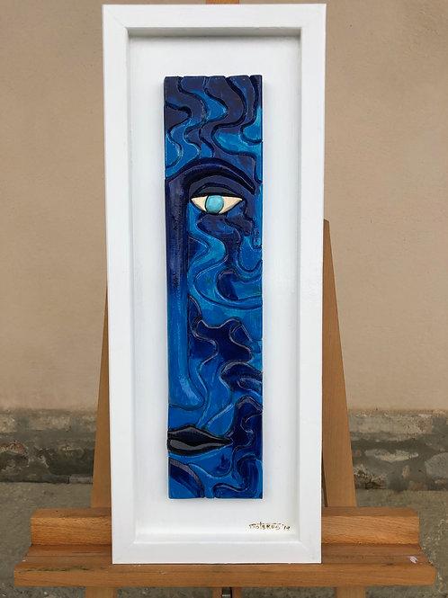 Dal profondo dell'animo blu 25x65 cm