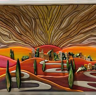 NUOVA ALBA 43x61 cm CORNICE BIANCA