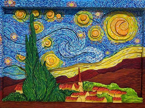 Notte stellata 66,5x46,5 cm