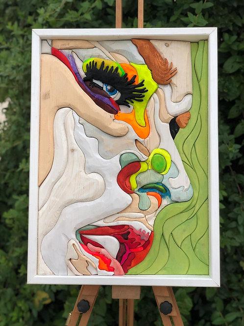 Sguardo 59x43,5 cm