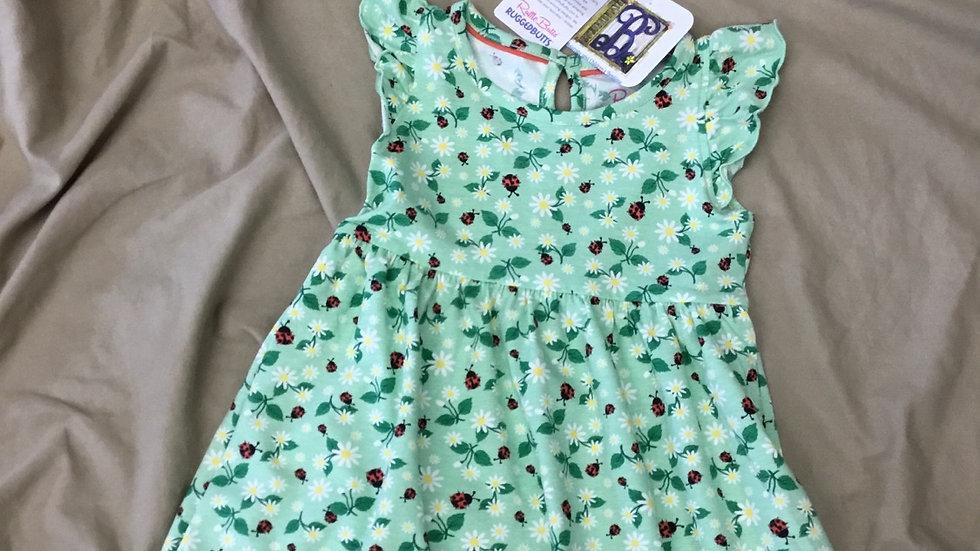 Ruffle Butts Daisy and Ladybug Dress