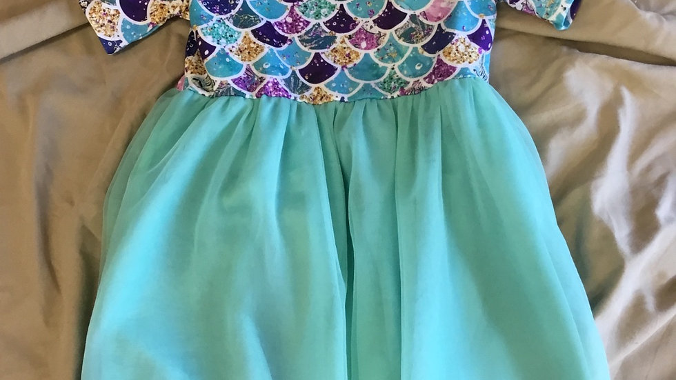 Mermaid Madness Tutu Dress